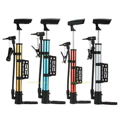 Mini Portable Lightweight Aluminum Alloy MTB Bicycle Cycling Bike Tire Air Pump