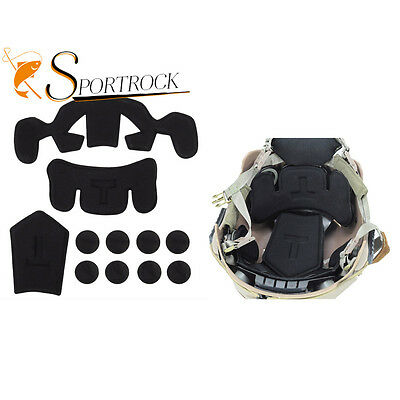 Outdoor Protection Pad for EXF Style Fast Jump Military Helmet Black