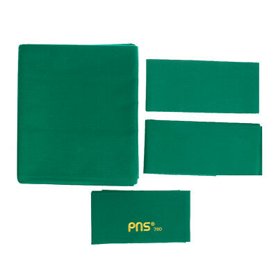PNS760 Wool Snooker or Pool Table Cloth Felt for 9ft Table - Green
