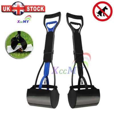 Pet Dog Waste Easy Pickup Poo Pooper Scooper Walking Grabber Picker 2 Colors UK