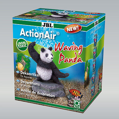 JBL ActionAir Waving Panda dekorations-figur pour aquariums avec luftbetrieb