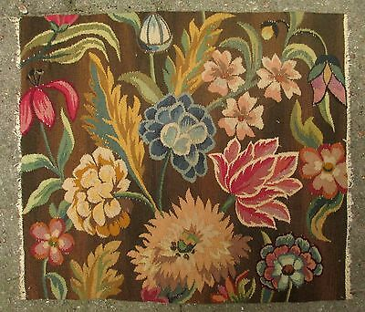An Antique Tapestry with Flowers #2