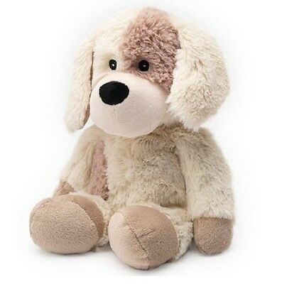 Intelex WARMIES Lavender Scented COZY PLUSH  PUPPY Microwavable SOFT TOY