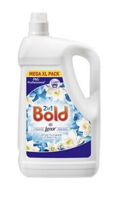 Bold 2 in 1 Laundry Liquid Washing Detergent Large Family Size 100 Wash