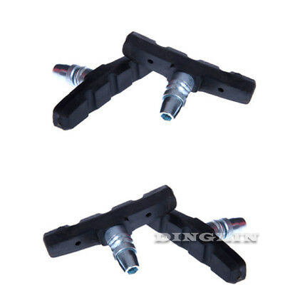MTB Mountain Bike Road Cycling Rubber V Brake Holder Shoes Pads Accessories New