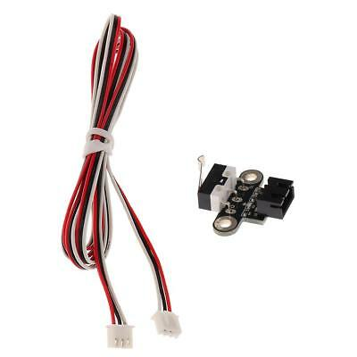 Horizontal Mechanical Normal Open End Stop Switch with Wiring for 3D Printer