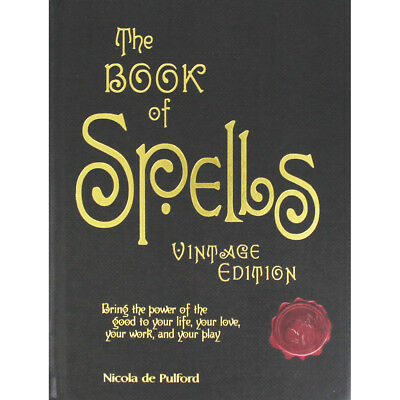 The Book Of Spells - Vintage Edition (Hardback), Non Fiction Books, Brand New