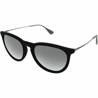 Ray-Ban Women's Erika RB4171-6075/6G-54 Black Round Sunglasses