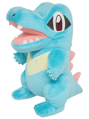 Official Pokemon Totodile Plush Toy by SANEI Pocket Monster Doll Kid Gift