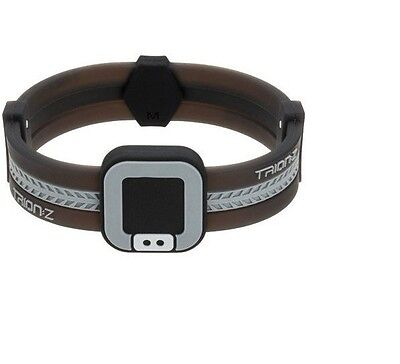 Trion:Z Acti Loop Polarized Ionic Bracelet (SMALL) Black & Grey (NEW/ SEALED)