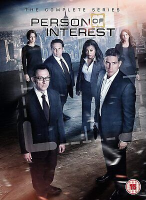 Person of Interest Season 1-5 [2017] (DVD)