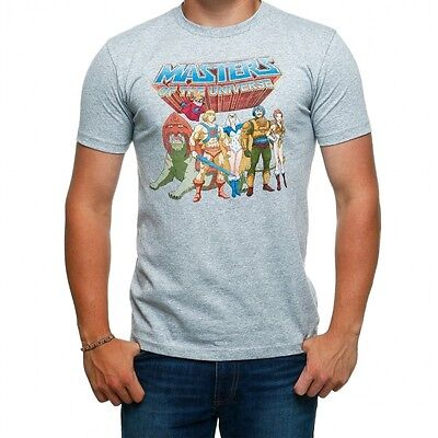 Masters Of The Universe Group Pose T-Shirt - New - He-Man US Xlarge