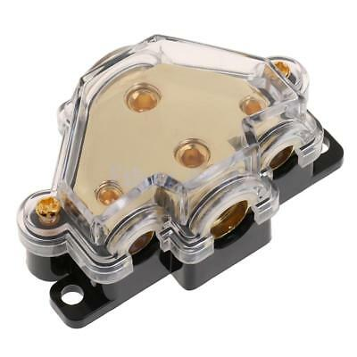 Car Stereo Audio Inline Fuse Holder Distribution Block 4 8 Gauge Out