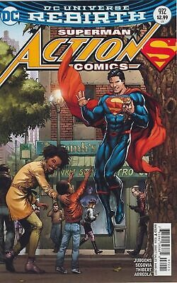 SUPERMAN ACTION COMICS #972 VARIANT (2016)VF/NM DC 1st PRINT