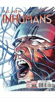 All-New Inhumans #9 (2015)Vf/nm Marvel