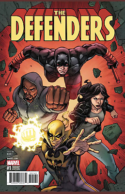 The Defenders #1 (2017)Ron Lim  Variant Vf/nm Marvel