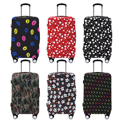 24'' Hard Shell Cover 4 Wheel Spinner Suitcase Luggage Bag Case Trolley Travel