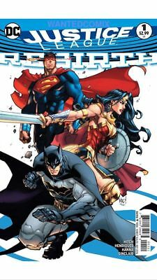 Justice League Rebirth #1 Variant One Shot (2016)Vf/nm Dc