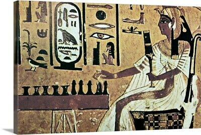 Premium Thick-Wrap Canvas Wall Art entitled Ancient Egyptian queen Nefetari