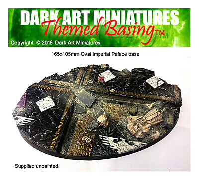 Imperial Palace themed resin cast bases for wargaming. MULTI-LISTING