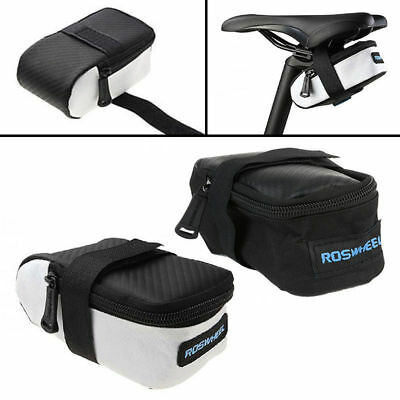 ROSWHEEL Hot New Outdoor Saddle Bag Cycling Seat Storage Bike Tail Rear Pouch