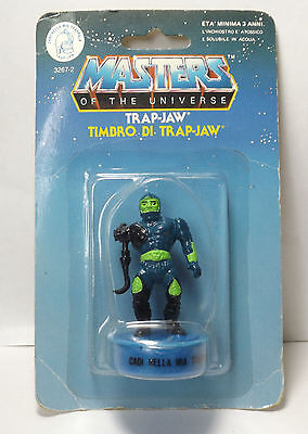 MOTU Masters of the Universe - Trap Jaw Stempel / stamp OVP MOC