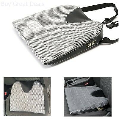 Seat Cushion Back Support Comfort Memory Foam Removable Long Drive Car Truck