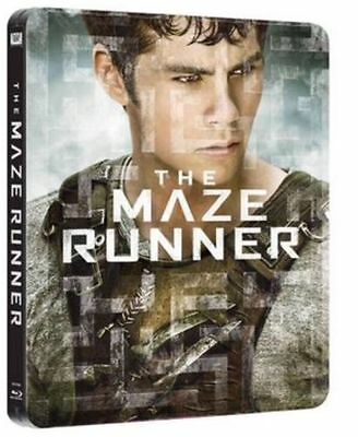 dvd THE MAZE RUNNER - BLU RAY - STEEL BOOK (LIMITED EDITION)