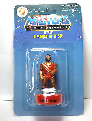 MOTU Masters of the Universe - Jitsu Stempel / stamp OVP MOC unpunched