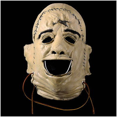 Texas Chainsaw Massacre Leatherface 1974 FACE Mask Trick r Treat IN STOCK