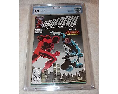 Daredevil #257 VS Punisher World Trade Center Cover 9.8 CBCS White Pages Comic