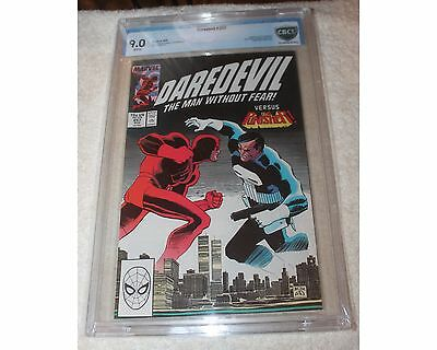 Daredevil #257 versus Punisher World Trade Center Cover! 9.0 CBCS Comic