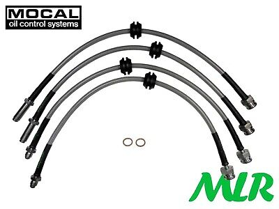 Ford Focus Mk2 1.8 2.0 Tdci Stainless Steel Braided Brake Lines Hoses Pipes Bgg