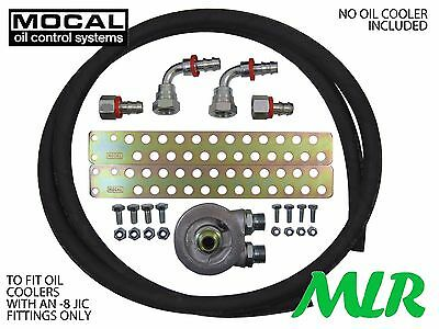 Mg Zr Zs Zt K Series Mocal -8 Rubber Hose Oil Cooler Fitting Kit Zo8-13/16Unf