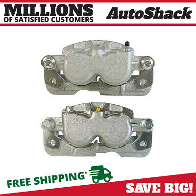 New Pair of Premium Disc Brake Calipers Set fits Cadillac Chevrolet GMC Hummer