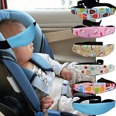 Car Seat Safety Sleep Positioner Stroller Baby Kids Head Neck Support Belt Strap