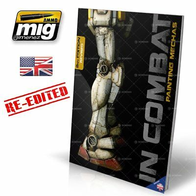 Ammo of Mig: In Combat - Painting Mechas English - Ammo of Mig 8432074060130
