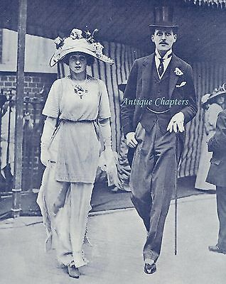 Engagement Announcement Lord Anglesey Lady Marjorie Manners 1912 Photo Article