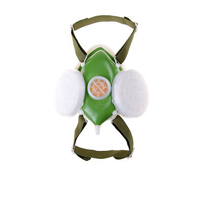 Anti-Dust Respirator GasMask Filter Paint Goggle Set Chemical Safety ProtectiveF