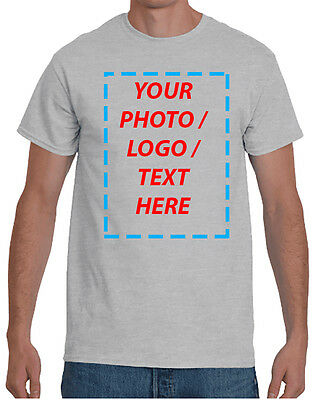 Custom T-Shirt with Your Photo | Text | Logo | t-shirt printing | DTG