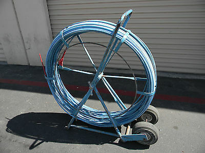 """Condux  7/16"""" x 635' Python Duct Rod system (VERY GOOD USED)"""