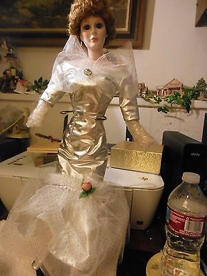 """18"""" convention All Bisque doll"""