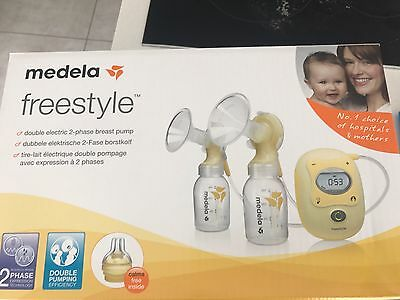 Medela Freestyle Double Electric Breast Pump RRP £329.99