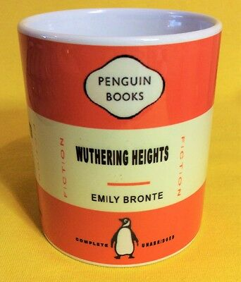 Penguin Book Cover-Emily Bronte-Wuthering Heights-On A  Mug.