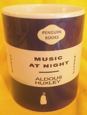 Penguin Book Cover-Aldous Huxley-Music At Night-On A  Mug.