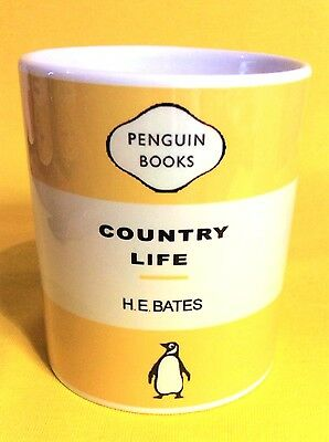 Penguin Book Cover-H.e.bates Country Life-On A  Mug