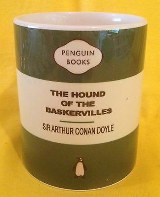 Penguin Cover-Sir Arthur Conan Doyle-The Hound Of The Baskerville-On A  Mug.