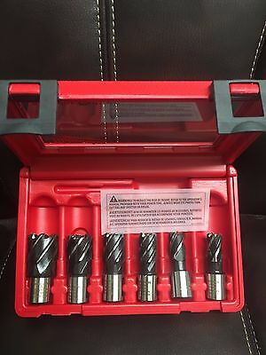 Milwaukee 49-22-8400 6pc HSS Annular Cutter Kit MADE IN GERMANY