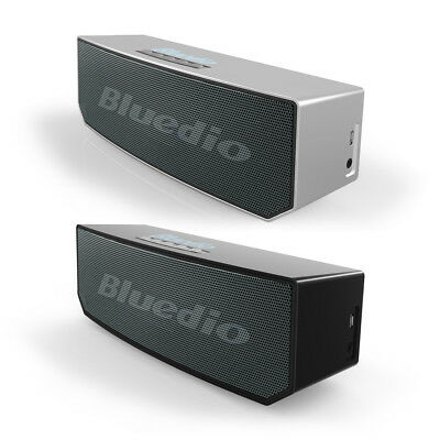 BLUEDIO BS-5 Bluetooth Portable Speakers Wireless Soundbar Woofer 3D
