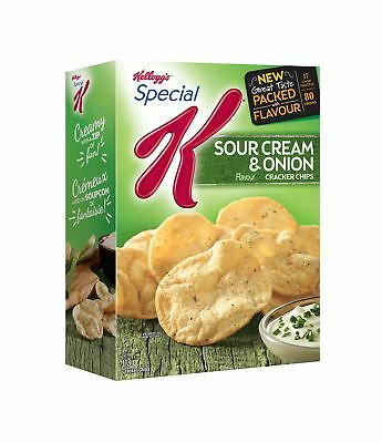 Kellogg's Special K Cracker Chips Sour Cream and Onion 113 Gram New